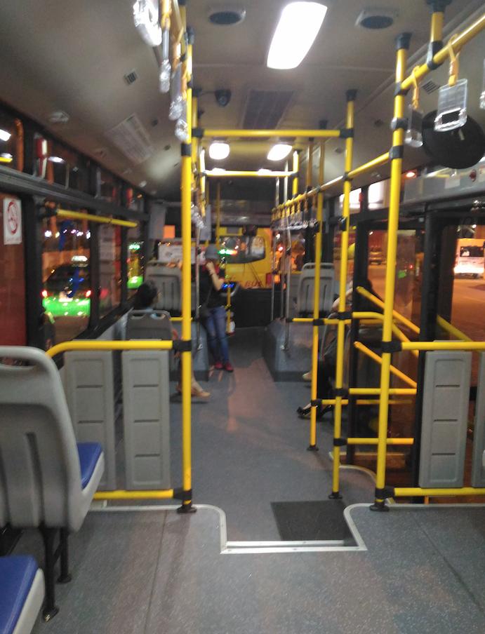ホーチミンシティの路線バス