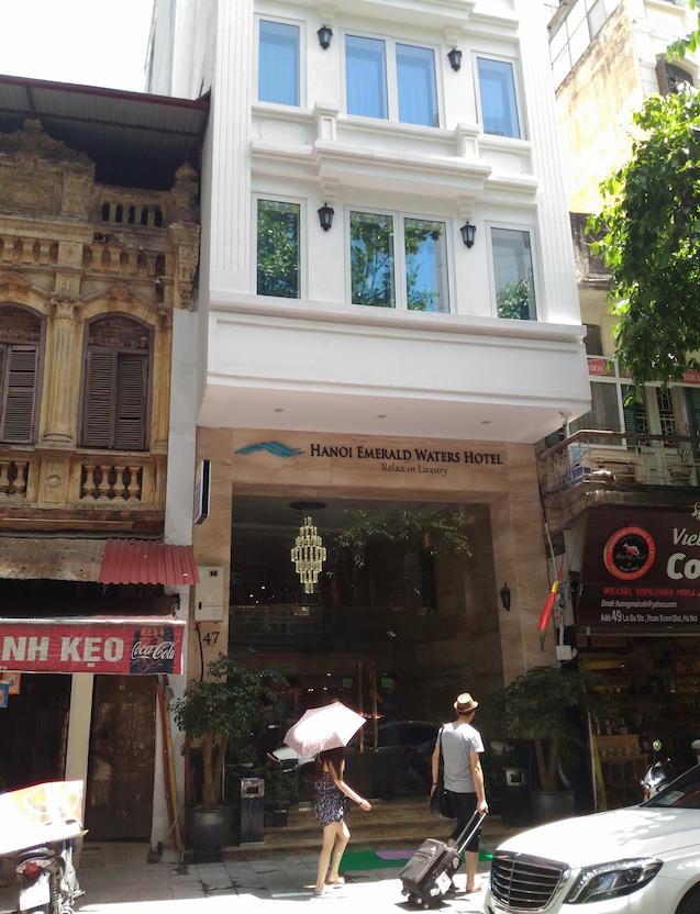 ベトナムのハノイにある「Hanoi Emerald Waters Hotel & Spa」