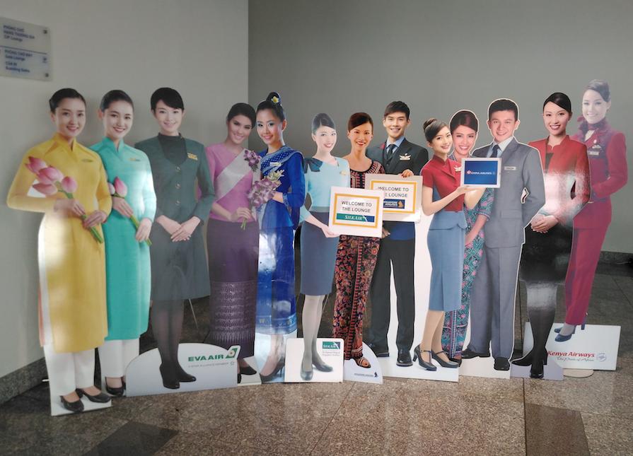 ハノイのノイバイ国際空港にあるベトナム航空の「Lotus Lounge(ロータスラウンジ)」