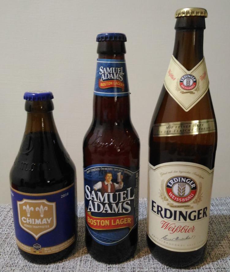 外国産のビール