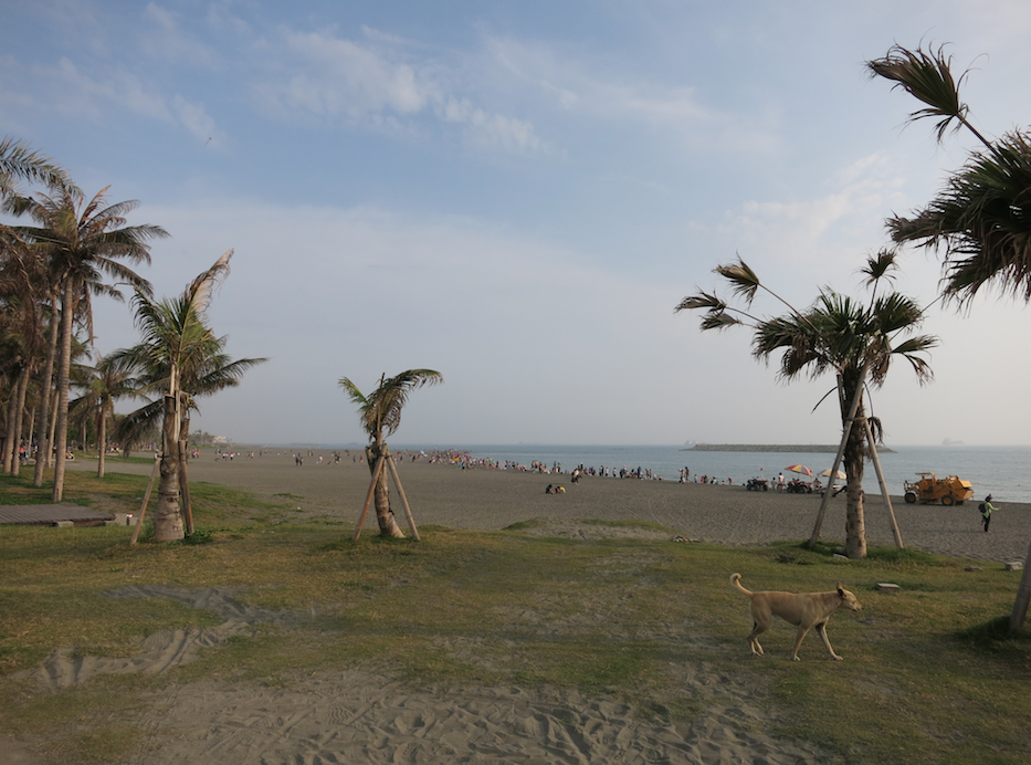 台湾のビーチ