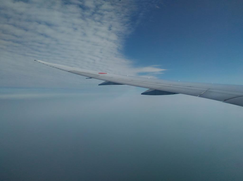 上空の景色