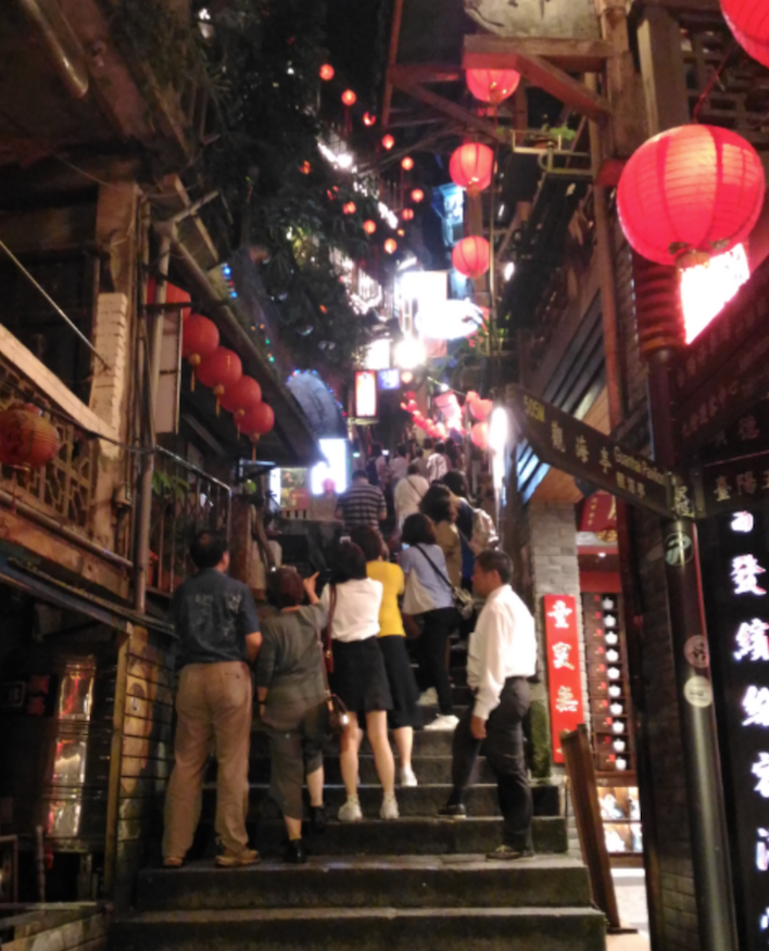 台湾の九份
