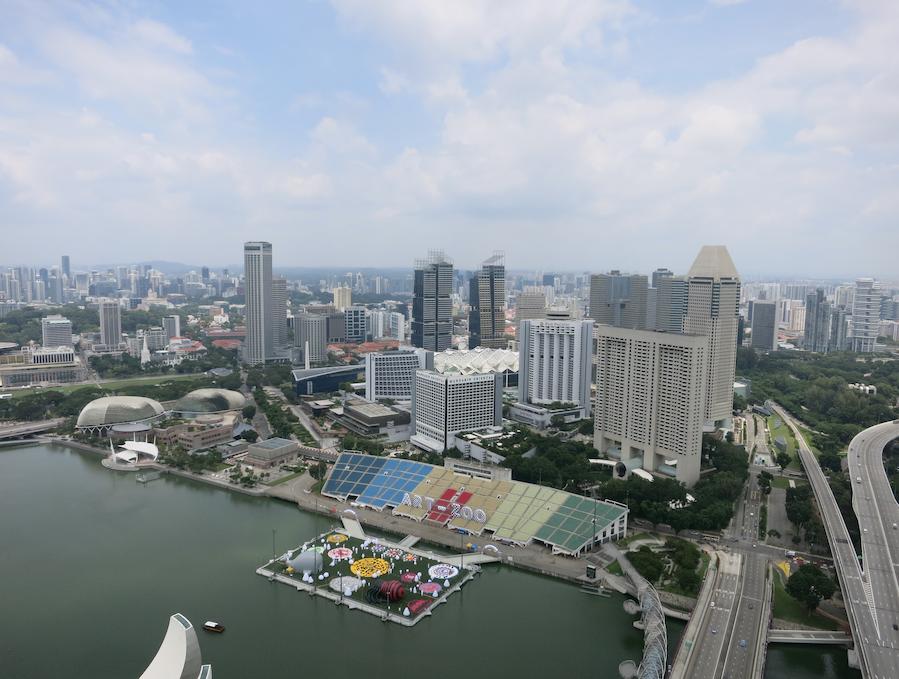 シンガポールのマリーナベイエリア