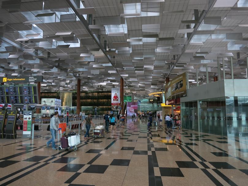 シンガポールのチャンギ国際空港