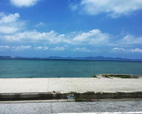 浜比嘉島海中道路