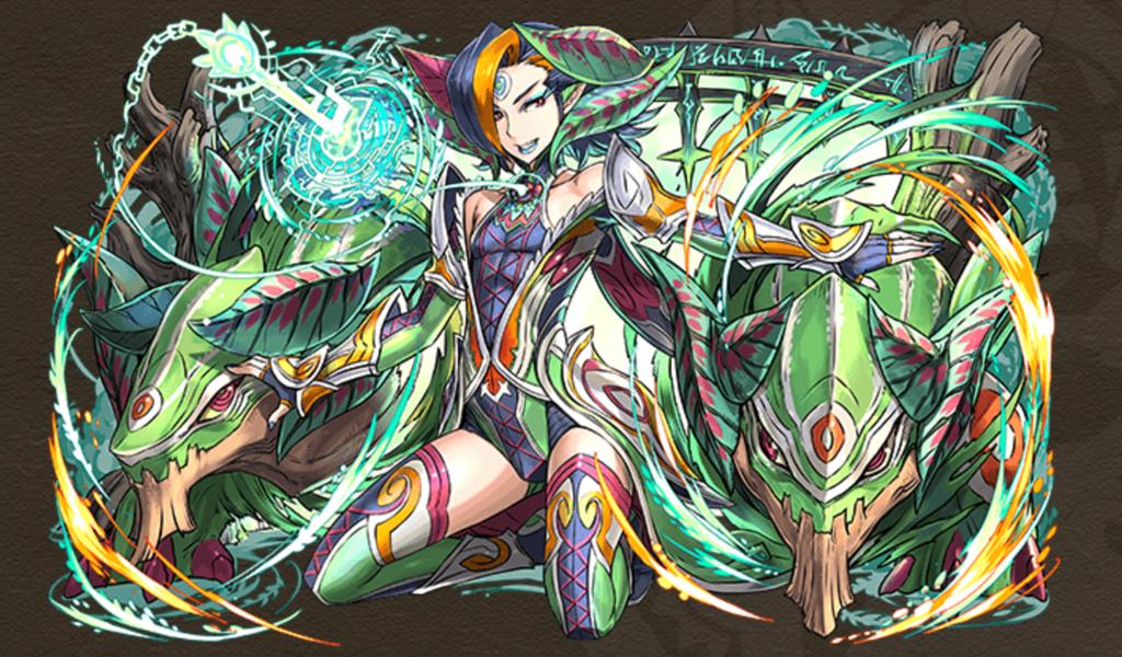悲願の庭龍喚士・シャゼル