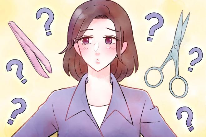 白髪は抜く・切るどっちが正解?!
