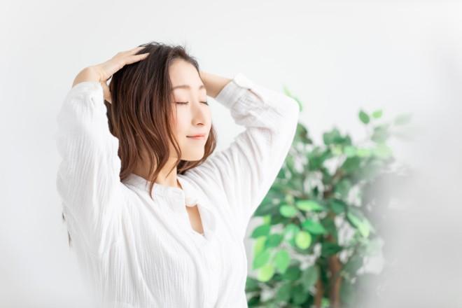 マッサージで頭皮環境を改善する