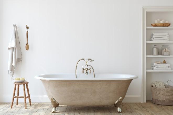 【デメリット3】お風呂場などが汚れることがある