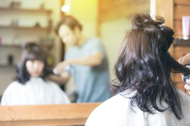 【デメリット5】美容院でのカラーがしづらくなることがある