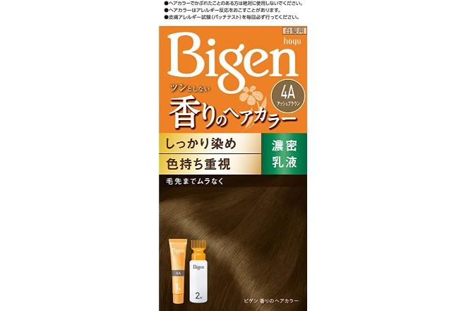 ビゲン 香りのヘアカラー 乳液タイプ