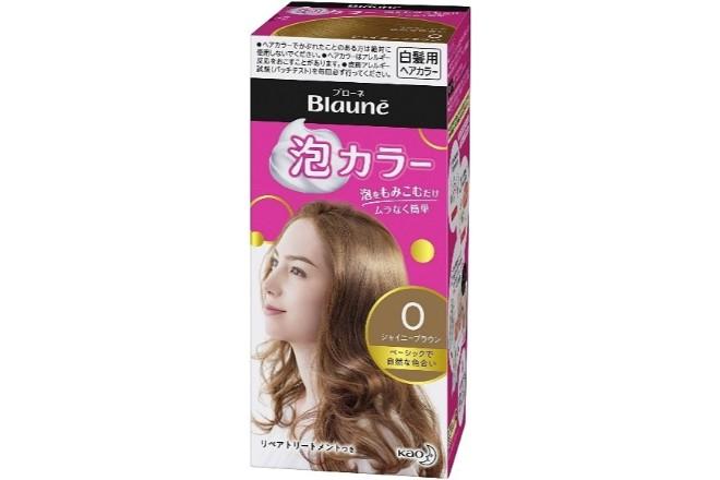 おすすめの白髪染め③ブローネ泡カラー