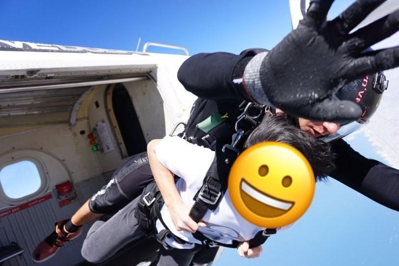 スカイダイビングの画像3
