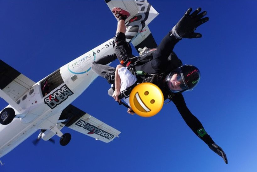 スカイダイビングの画像4