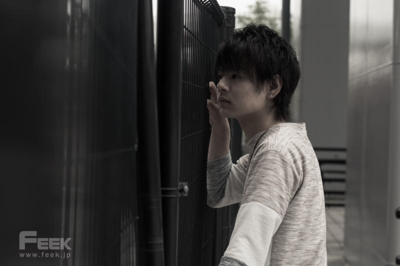 モデル団体「THE BEST」代表の長谷川陽平さんポートレート