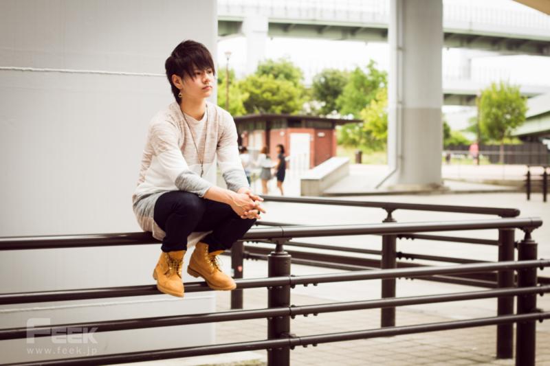 モデル団体「THE BEST」代表の長谷川陽平さん