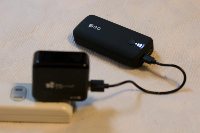 EC Technology『iEC 5200mAhモバイルバッテリー』