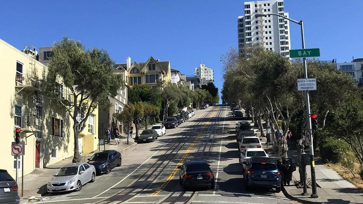 アメリカ移住 サンフランシスコの町並み