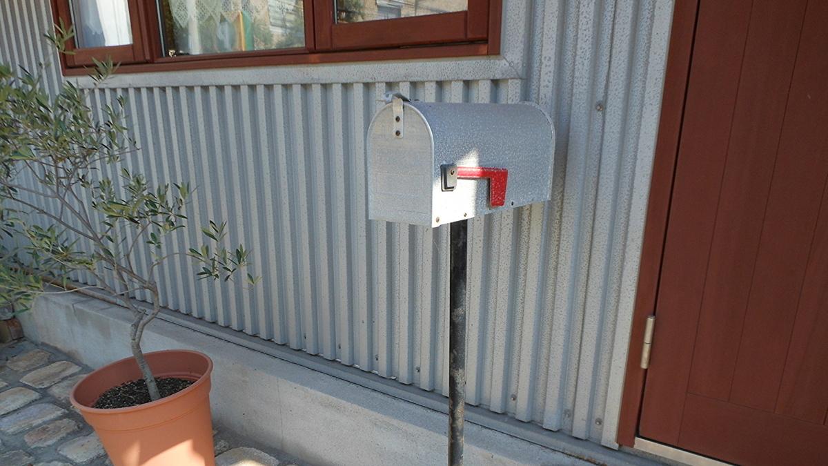 アメリカ 郵便受け