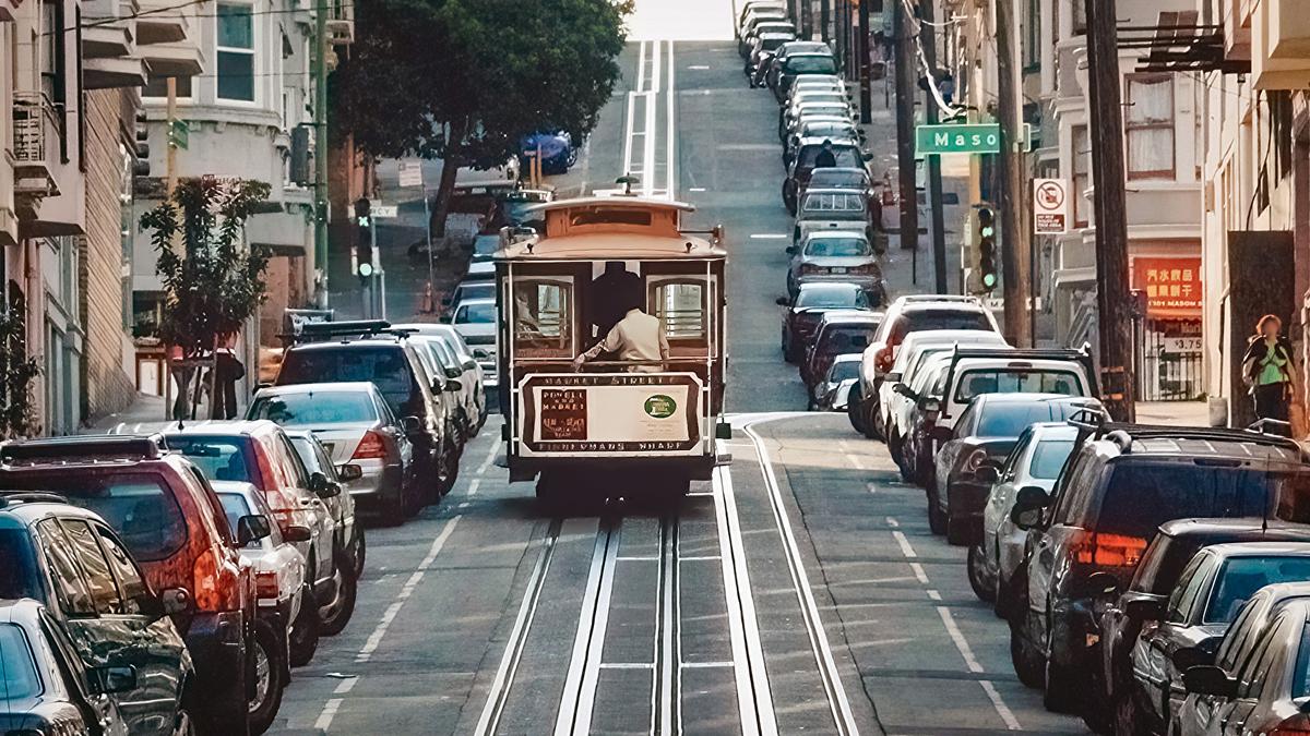 アメリカ サンフランシスコの町並み