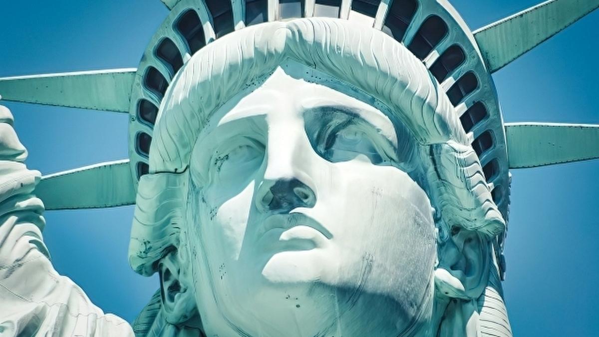 アメリカの自由の女神