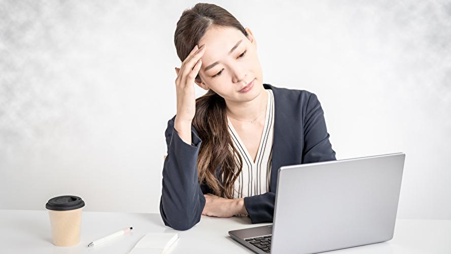 アメリカで問題に悩む日本人女性