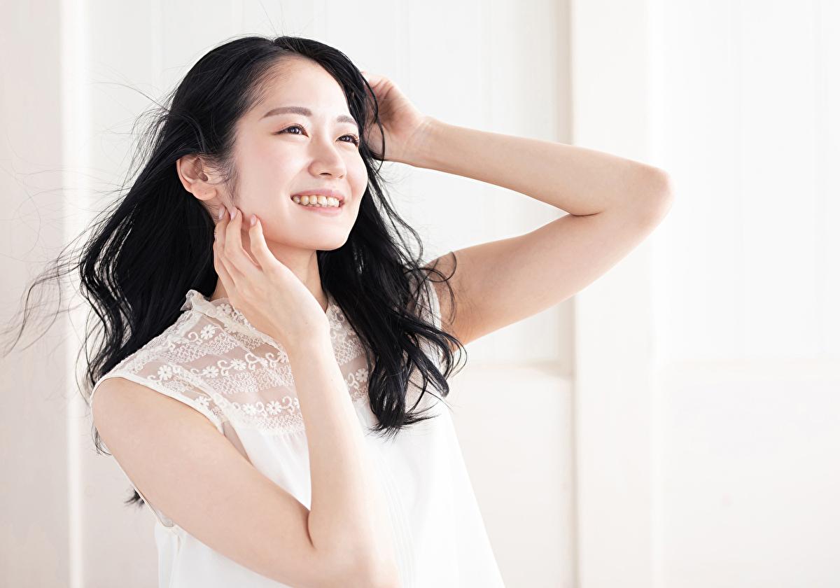 大人しく優しいが芯の強い日本人女性
