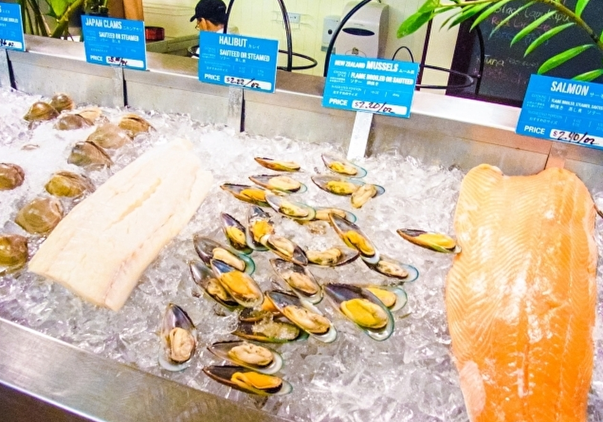 アメリカのスーパーで売られてる魚