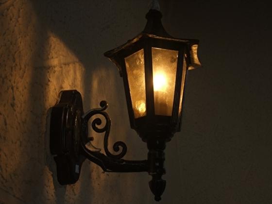 ゴシック風ランプ