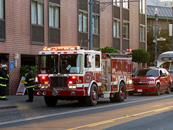 サンフランシスコのユニオンワーカー 消防隊員のイメージ
