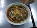 昼は、信州開田高原、霧しな蕎麦でした。ネギたっぷりがイイネ。 #goh