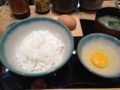 卵かけご飯うま~