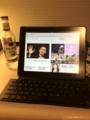 iPad用のキーボード買ったらPCと同じや
