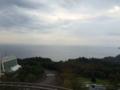 ホテルに着いた。小田原の海