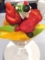 あまおう苺とブラジルマンゴーのパフェ