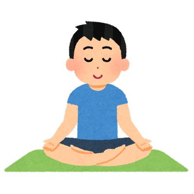 瞑想を試してみてました