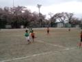 上野原にて遠征試合 その2 寒かったぁ。。。