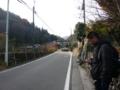 ようやくバス到着。右の方は存じませんが・・・
