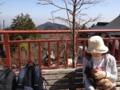 山頂で小休止(^。^)