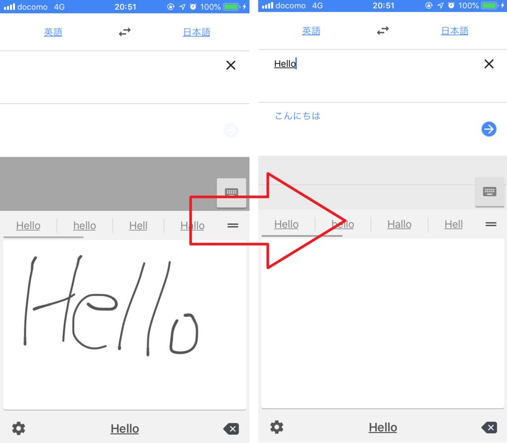 Google翻訳アプリはほんやくこんにゃく