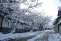 須坂小京都の冬景色