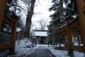 小坂神社の雪景色