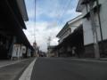[須坂市]蔵のまち通り入り口の町並み