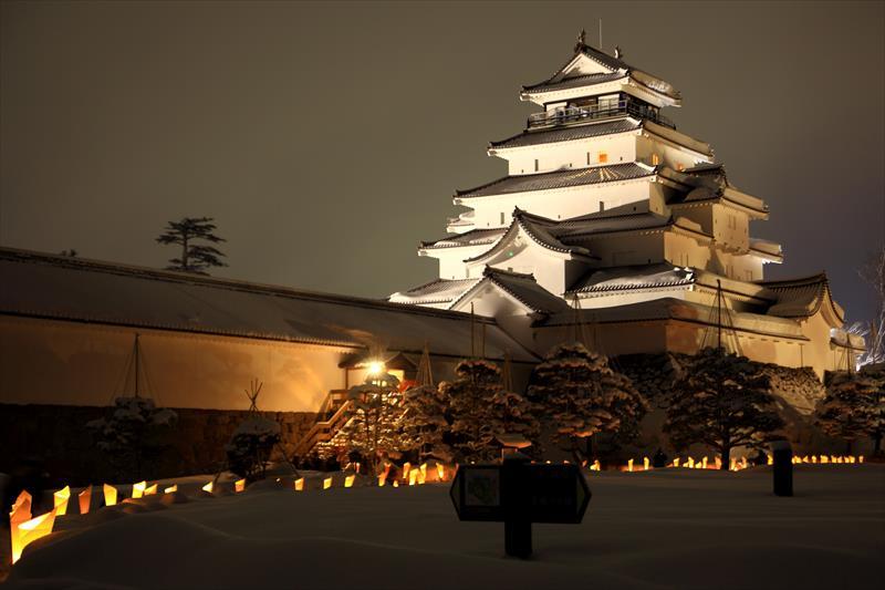 会津絵ろうそくまつり2015 鶴ケ城
