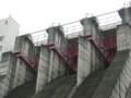 〔ハイキング〕呑吐ダム洪水吐ゲート