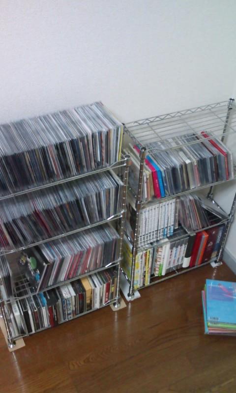 CDが予想以上に増えてる…