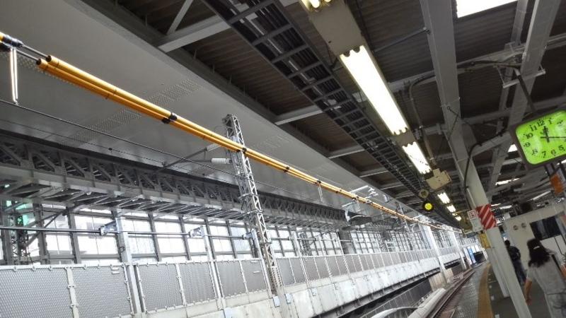 神田から見える目新しい鉄骨。これがあの上野東京ラインか!