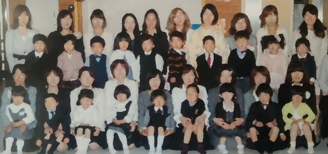 入園式の服装・ママと子どもの画像