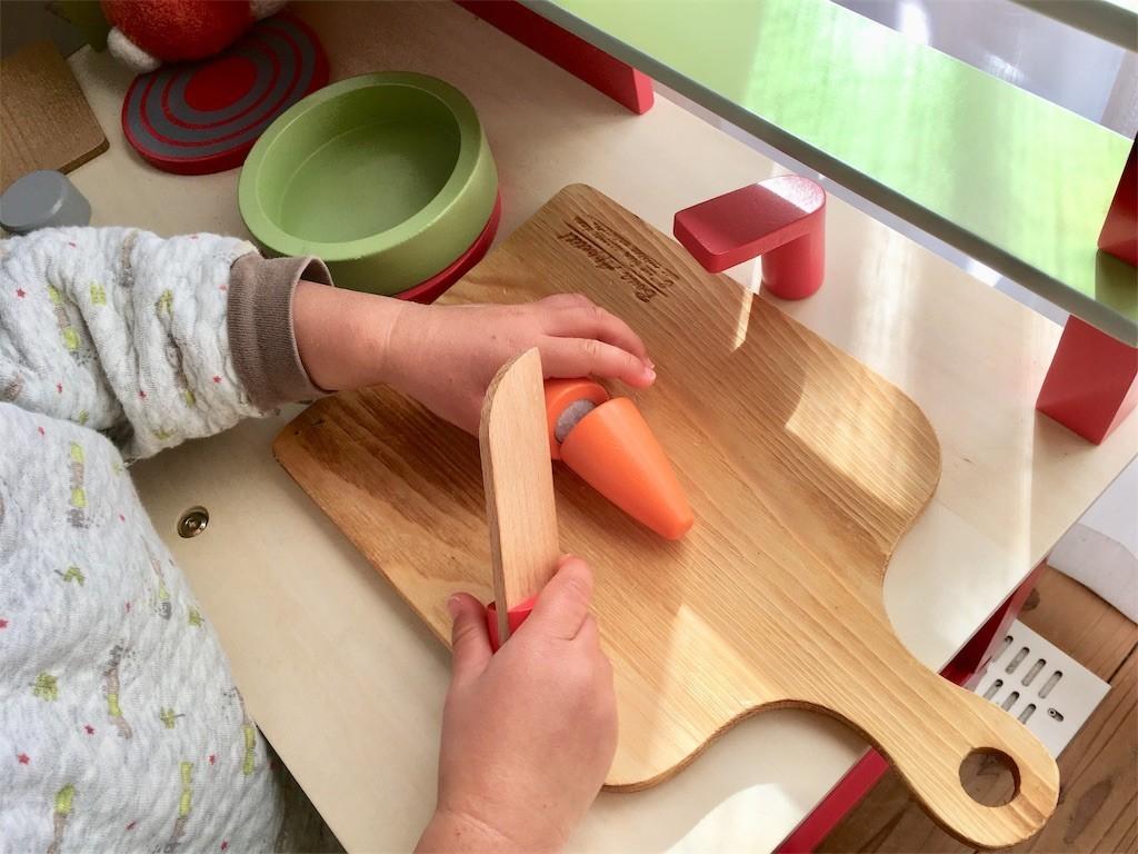 トイザらス木製ままごとキッチンJanodジャノー 口コミ